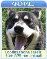 Localizzatori satellitari GPS GSM per animali pet tracker